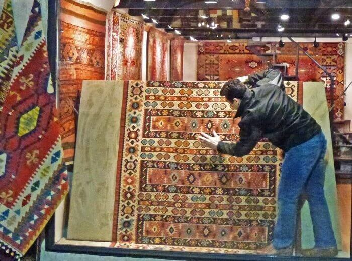 Kayseri Stadt der Teppiche