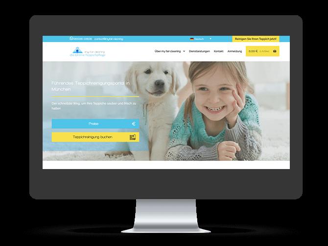 my fair cleaning alte website